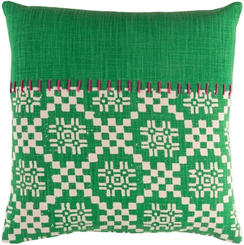 Surya Delray 20 x 20 x 0.25 Pillow Cover