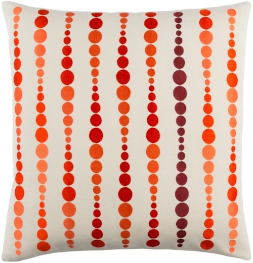 Surya Dewdrop 18 x 18 x 0.25 Pillow Cover