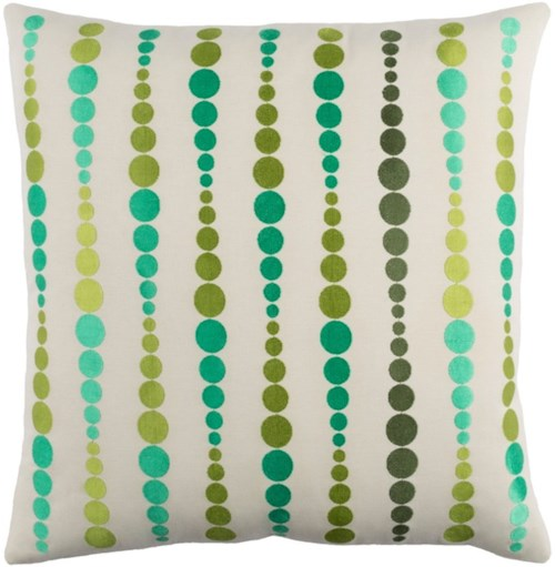 Surya Dewdrop 18 x 18 x 4 Pillow Kit