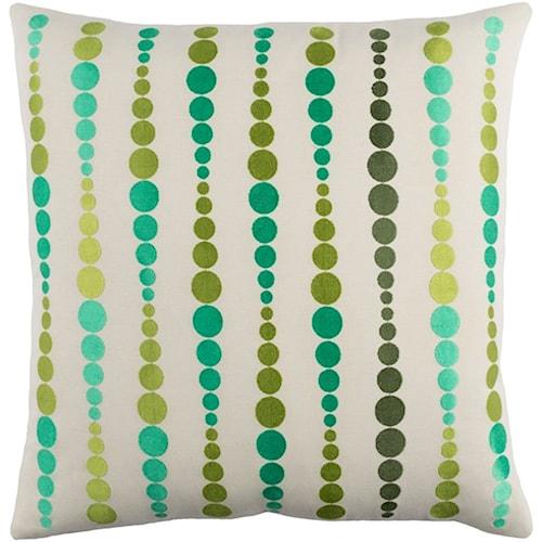 Surya Dewdrop 18 x 18 x 4 Pillow Kit