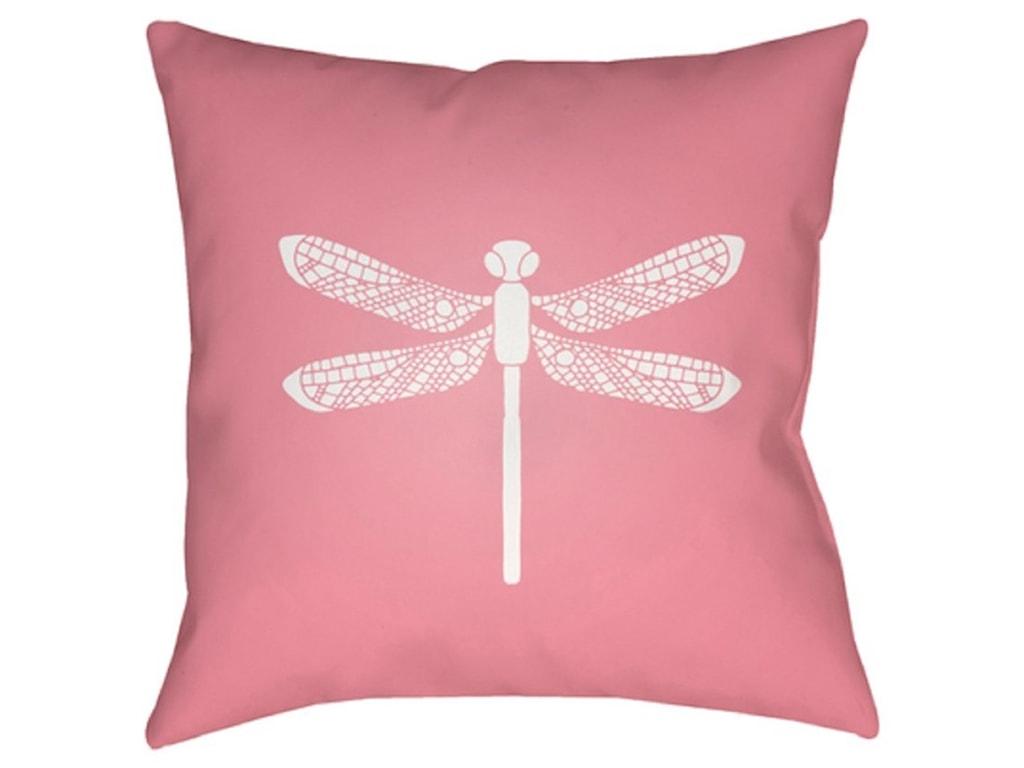 Surya DragonflyPillow