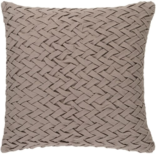 Surya Facade 18 x 18 x 0.25 Pillow Cover