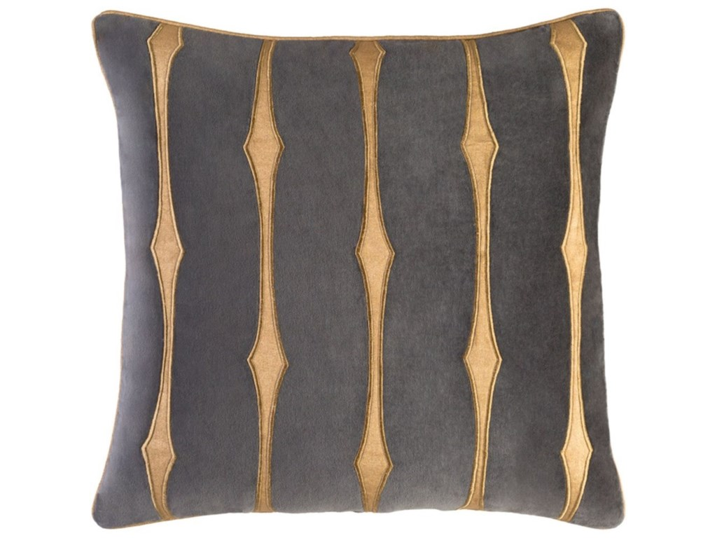 Surya Graphic StripePillow