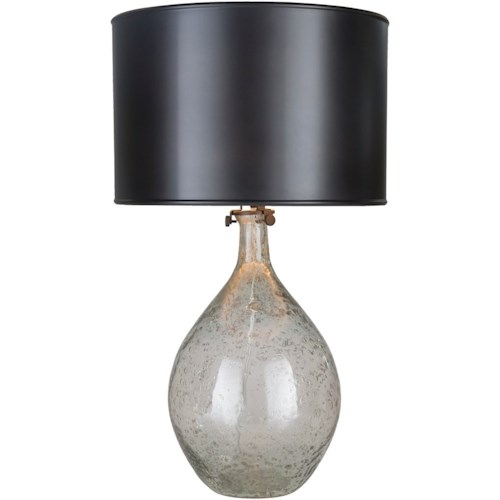 Surya Hayworth 12 x 12 x 27.5 Portable Lamp