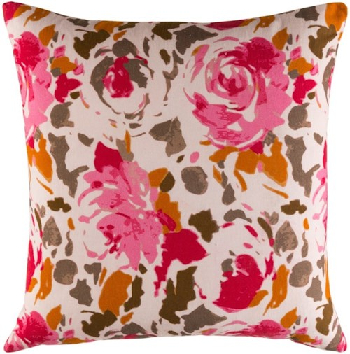 Surya Kalena 22 x 22 x 0.25 Pillow Cover