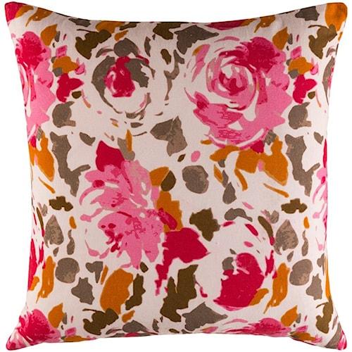 Surya Kalena 22 x 22 x 0.25 Pillow Cover