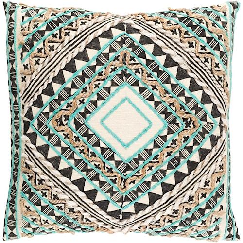 Surya Kazinga 18 x 18 x 0.25 Pillow Cover