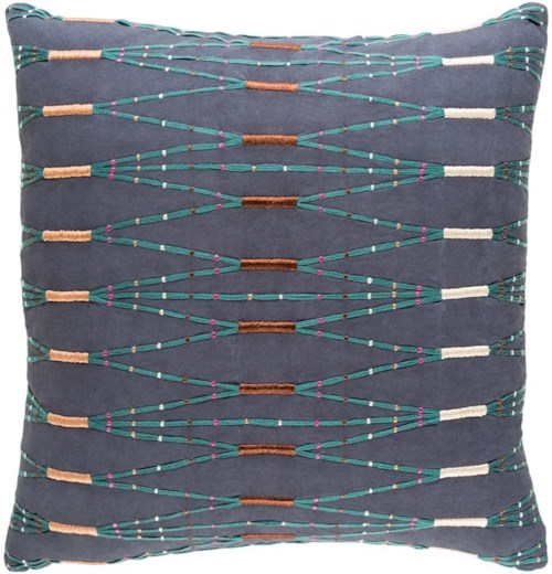 Surya Kikuyu 20 x 20 x 0.25 Pillow Cover