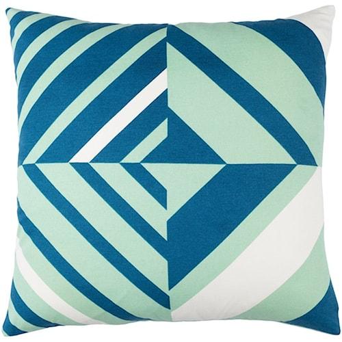 Surya Lina 20 x 20 x 0.25 Pillow Cover