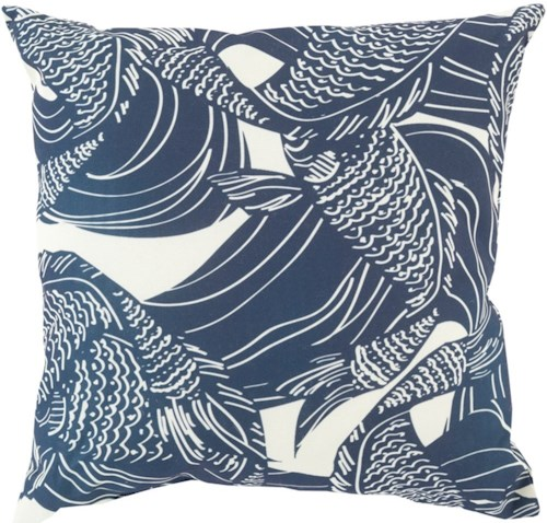 Surya Mizu 18 x 18 x 4 Pillow Kit