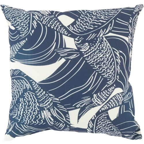 Surya Mizu 18 x 18 x 4 Pillow Kit
