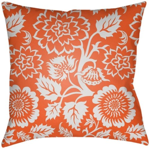 Surya Moody Floral 18 x 18 x 4 Made to Order