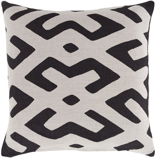 Surya Nairobi 18 x 18 x 0.25 Pillow Cover
