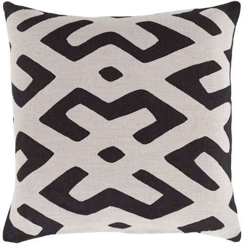 Surya Nairobi 18 x 18 x 0.25 Pillow Cover
