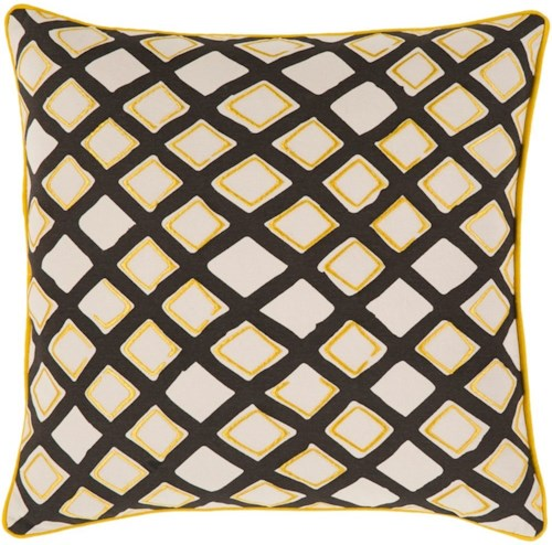 Surya Omo 22 x 22 x 0.25 Pillow Cover