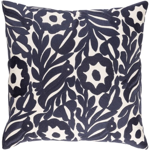 Surya Pallavi 7444 x 19 x 4 Pillow