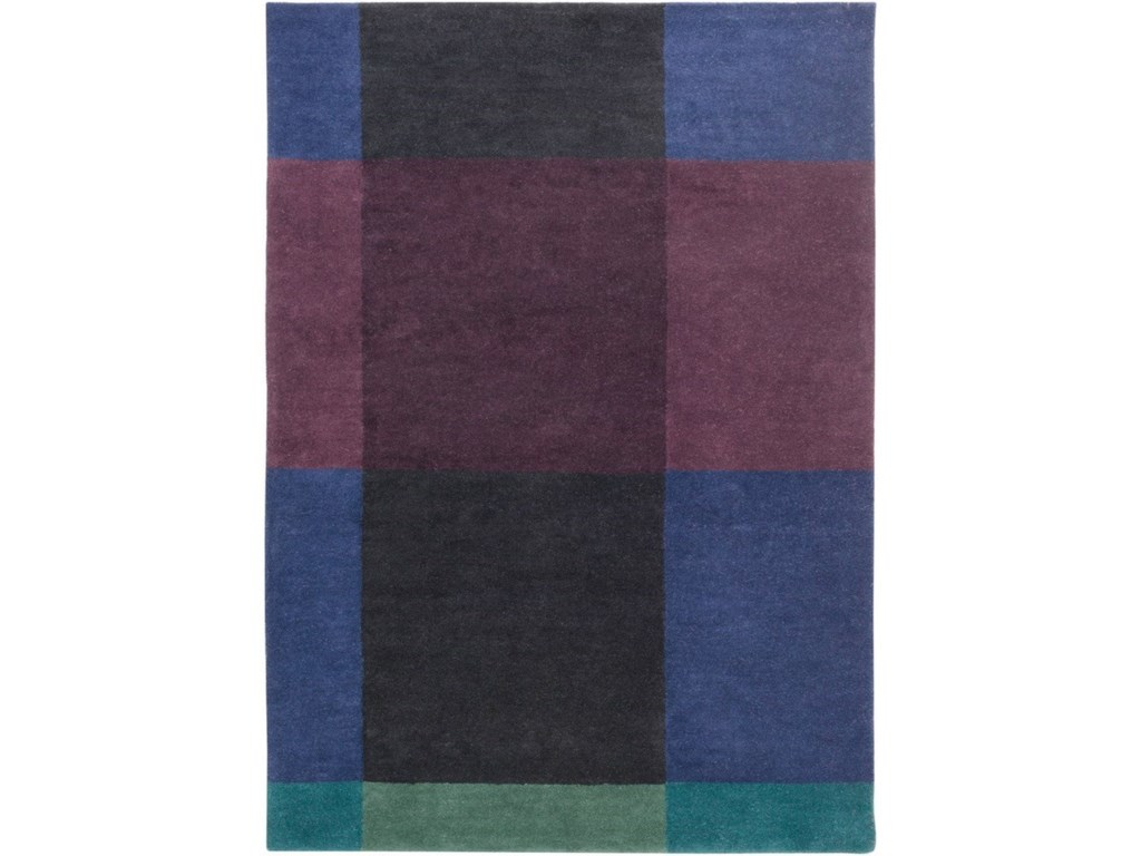 Surya Plaid2' x 3' Rug