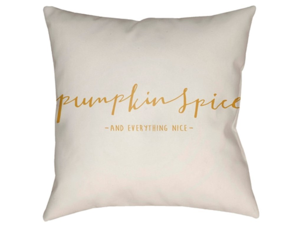 Surya Pumpkin SpicePillow