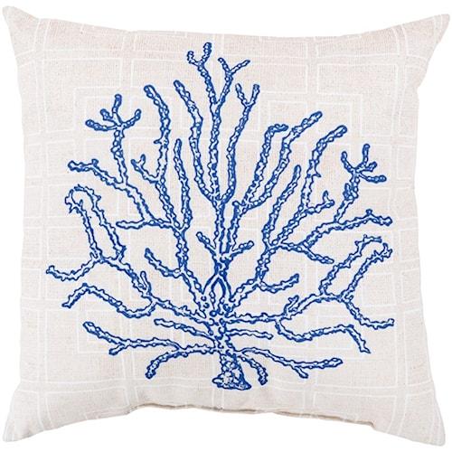 Surya Rain-1 18 x 18 x 4 Pillow Kit
