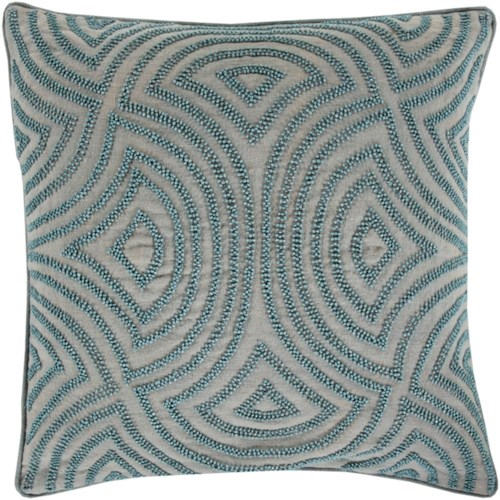 Surya Skinny Dip 22 x 22 x 0.25 Pillow Cover