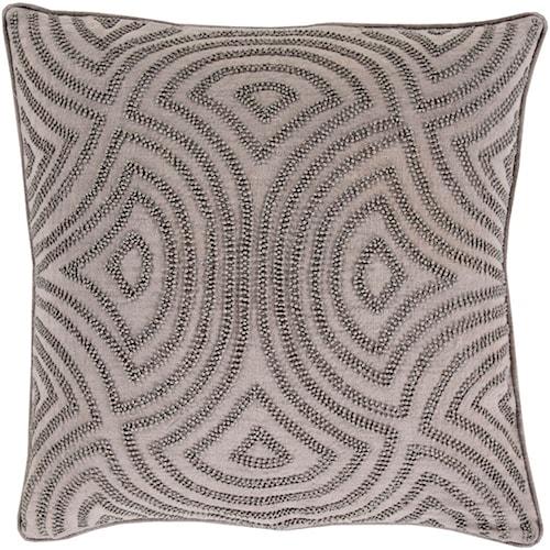 Surya Skinny Dip 20 x 20 x 0.25 Pillow Cover
