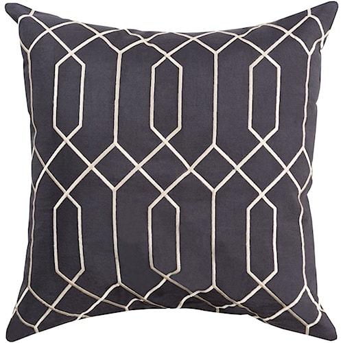 Surya Skyline 20 x 20 x 0.25 Pillow Cover