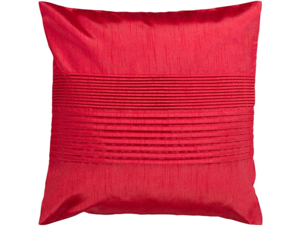 Surya Solid PleatedPillow