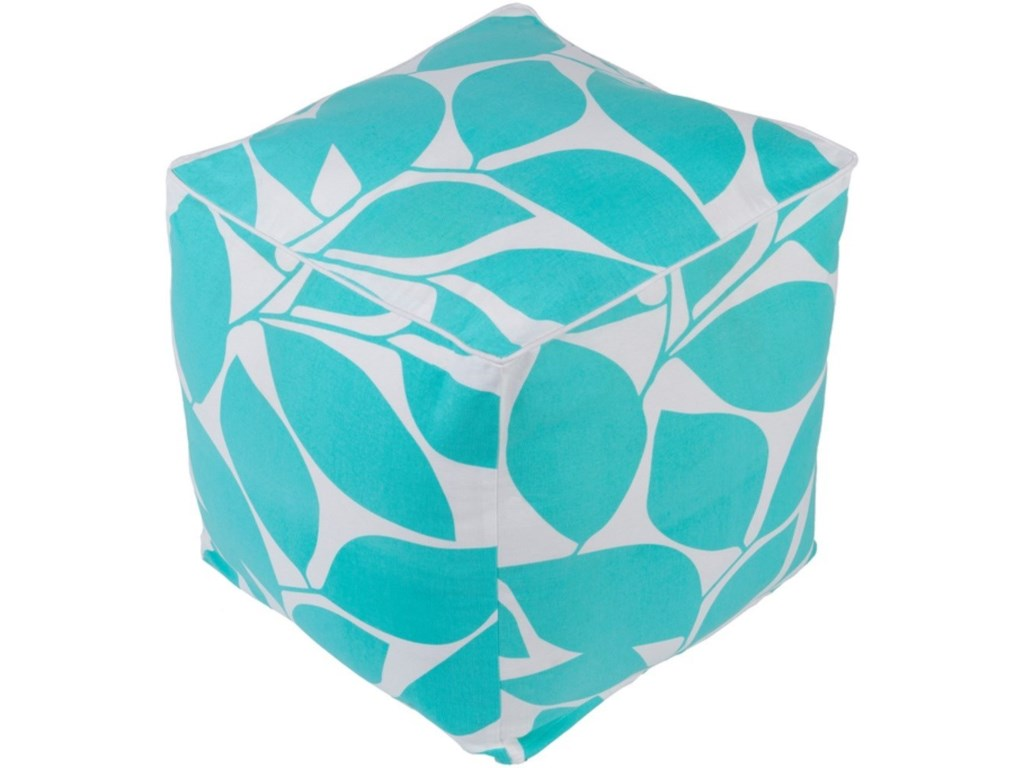 Ruby-Gordon Accents SomersetCube Pouf