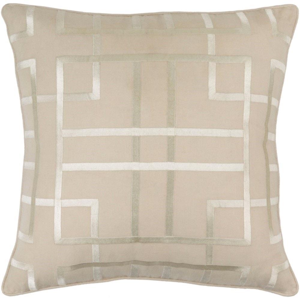 Surya tate tte004 1818p 9882 x 19 x 4 pillow coconis furniture mattress 1st throw pillows