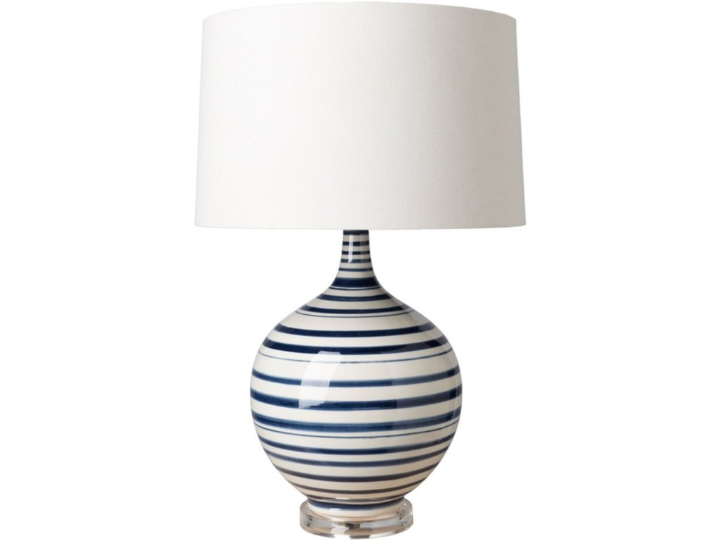 Surya TidelineTable Lamp