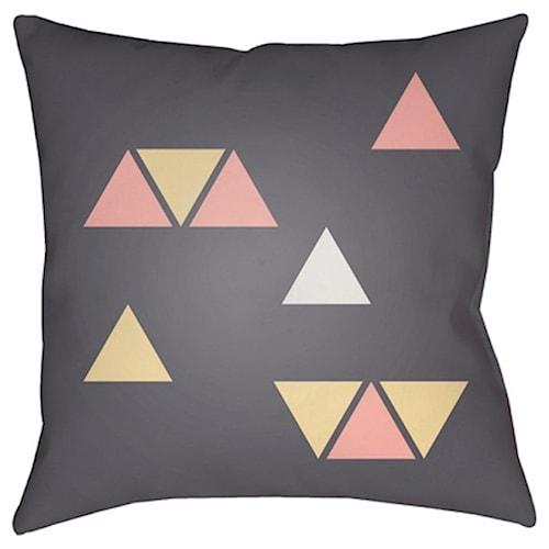 Surya Triangles 10641 x 19 x 4 Pillow