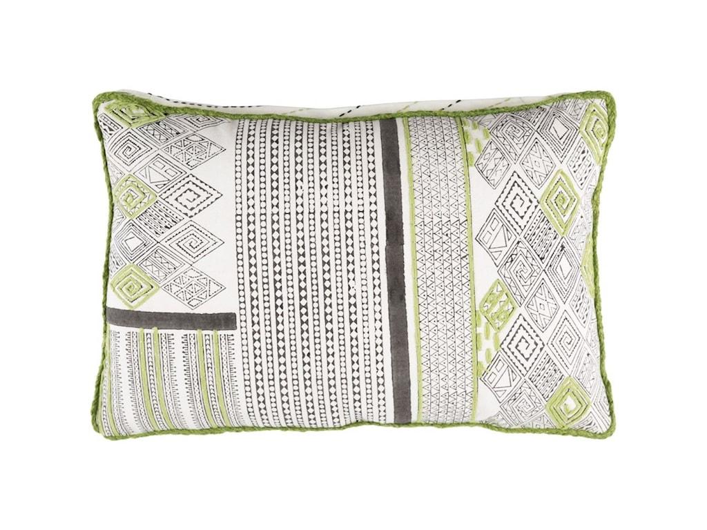 Surya Aba22 x 22 x 5 Polyester Throw Pillow