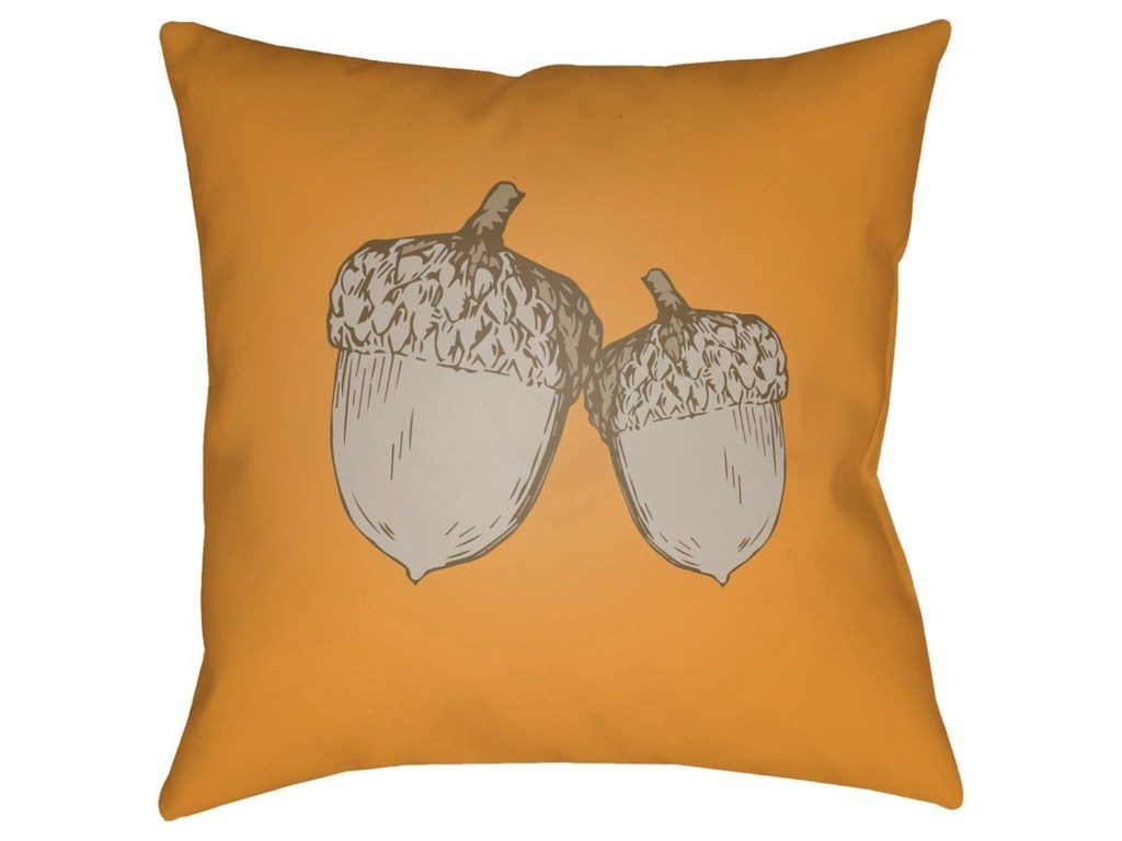 9596 Acorn20 x 20 x 4 Polyester Throw Pillow