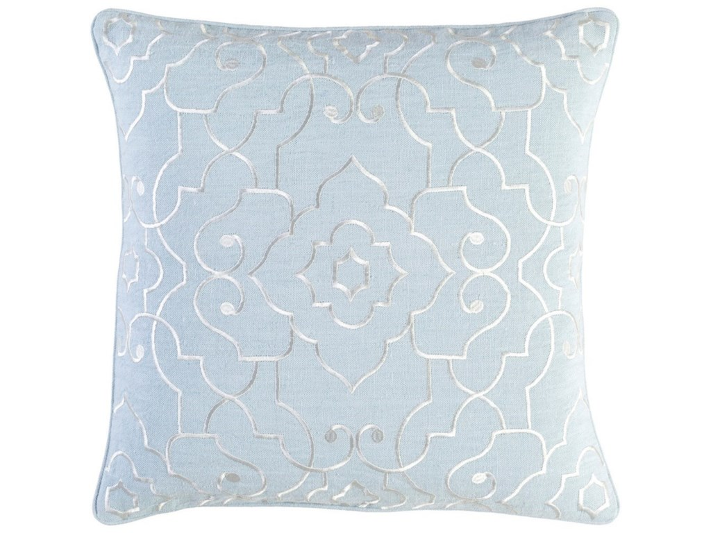 9596 Adagio18 x 18 x 4 Down Throw Pillow