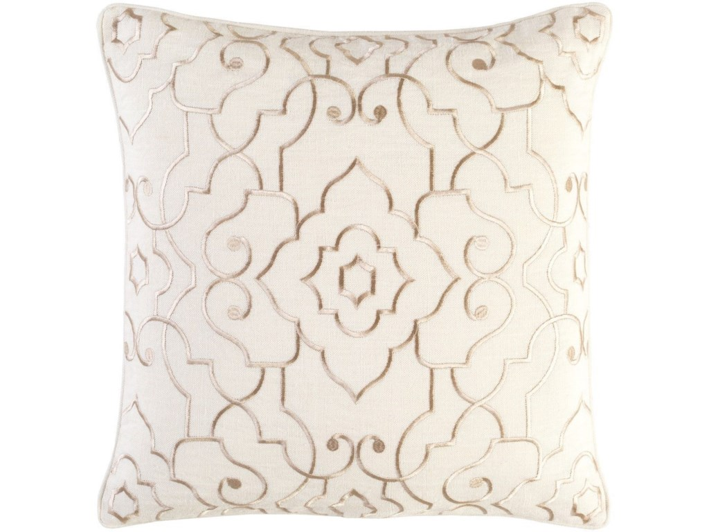 Surya Adagio22 x 22 x 5 Polyester Throw Pillow
