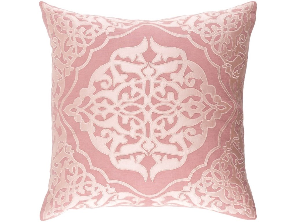 9596 Adelia22 x 22 x 5 Down Throw Pillow
