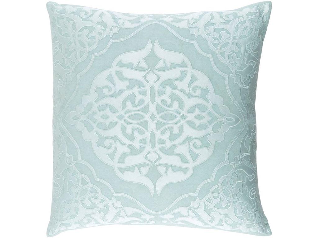 Surya Adelia18 x 18 x 4 Polyester Throw Pillow
