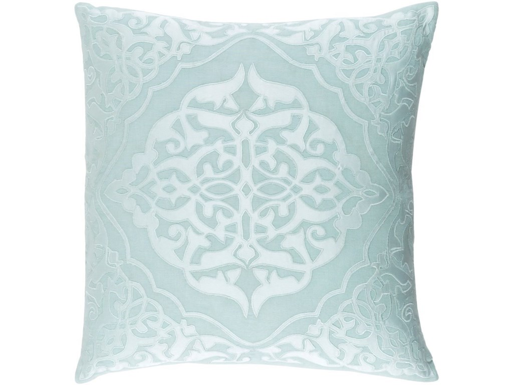 9596 Adelia20 x 20 x 4 Down Throw Pillow