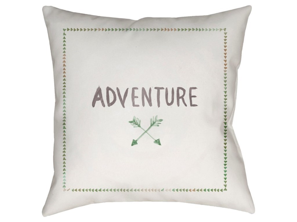 Ruby-Gordon Accents Adventure II20 x 20 x 4 Polyester Throw Pillow