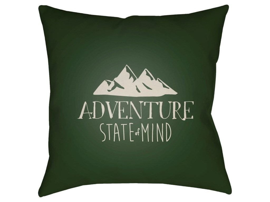 9596 Adventure III20 x 20 x 4 Polyester Throw Pillow