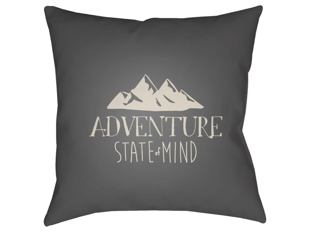 Ruby-Gordon Accents Adventure III20 x 20 x 4 Polyester Throw Pillow