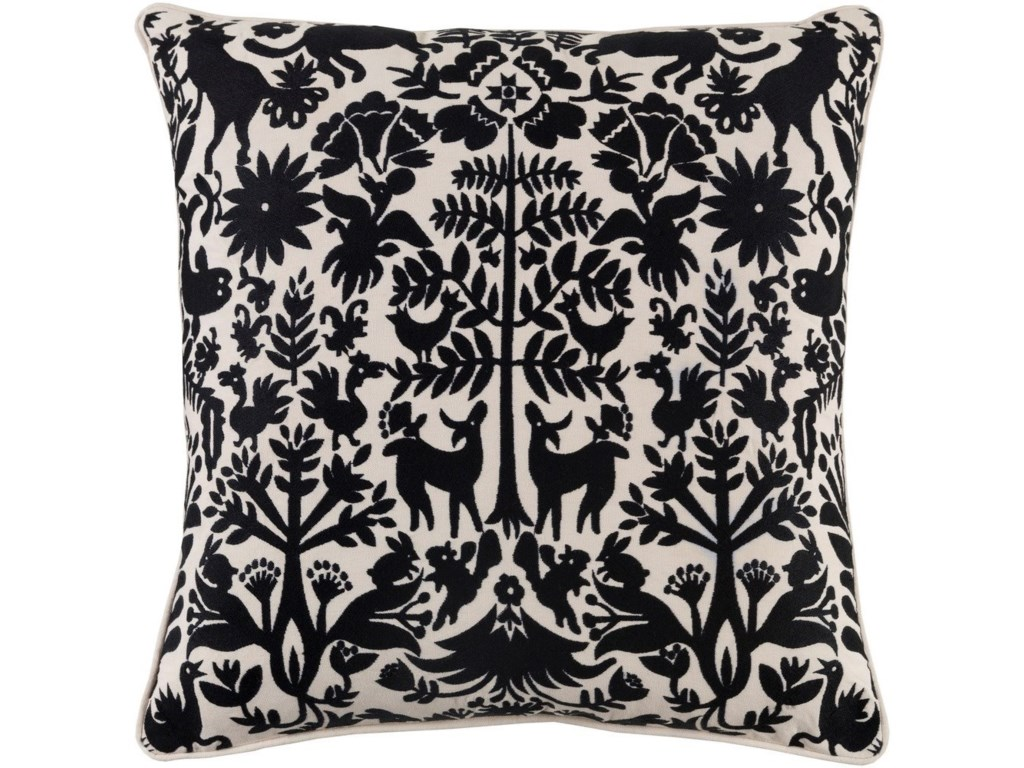 Surya Aiea22 x 22 x 5 Polyester Throw Pillow