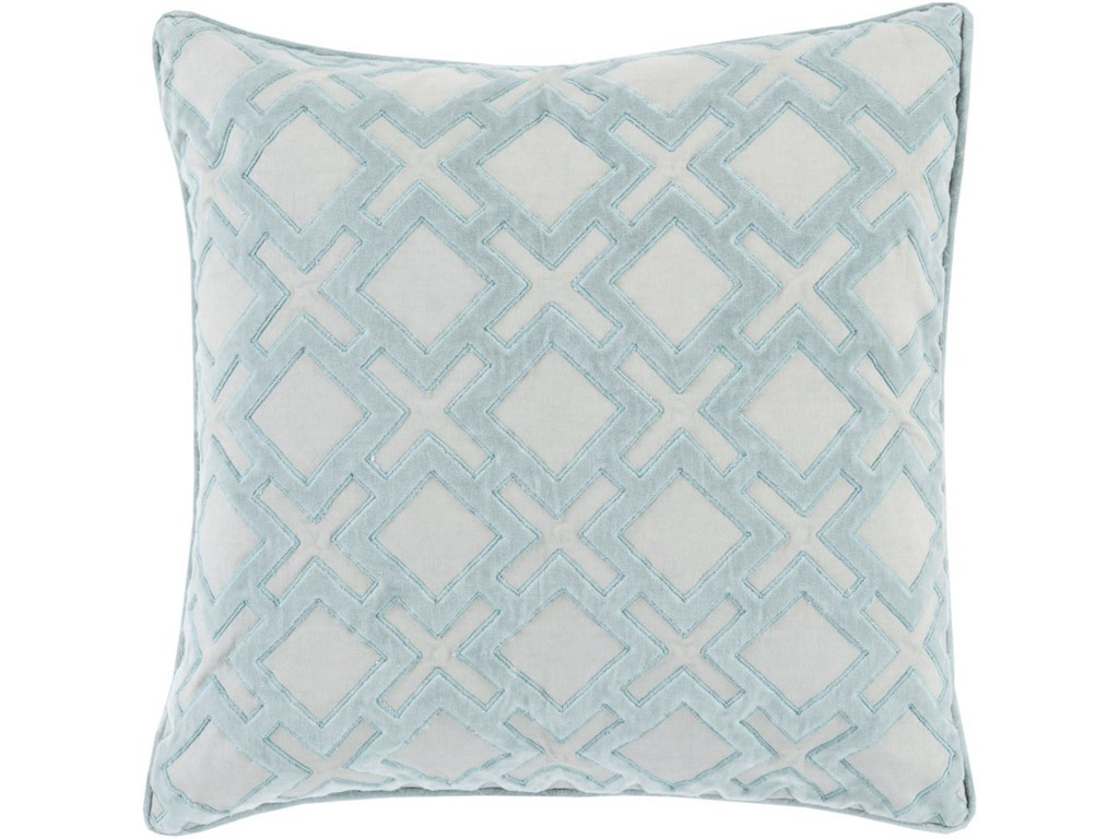 Ruby-Gordon Accents Alexandria18 x 18 x 4 Down Throw Pillow