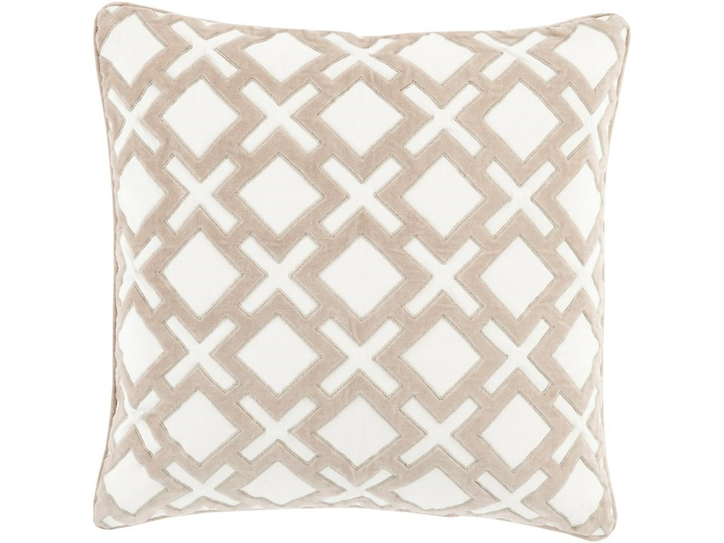 9596 Alexandria22 x 22 x 5 Down Throw Pillow