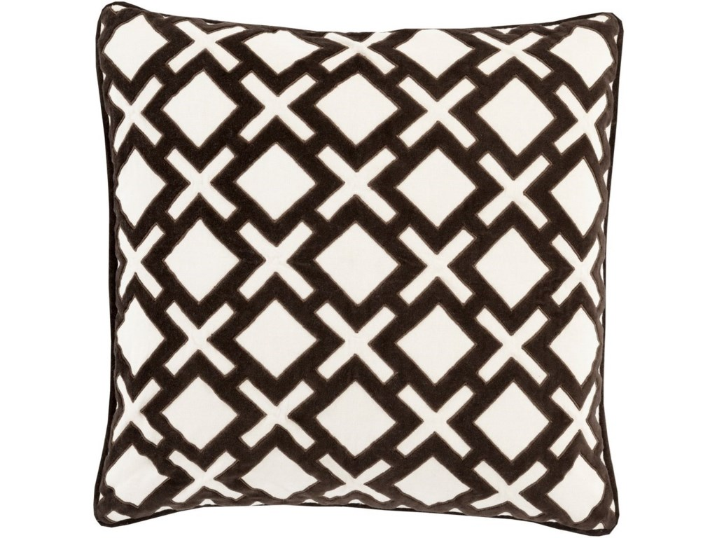 Surya Alexandria18 x 18 x 4 Down Throw Pillow