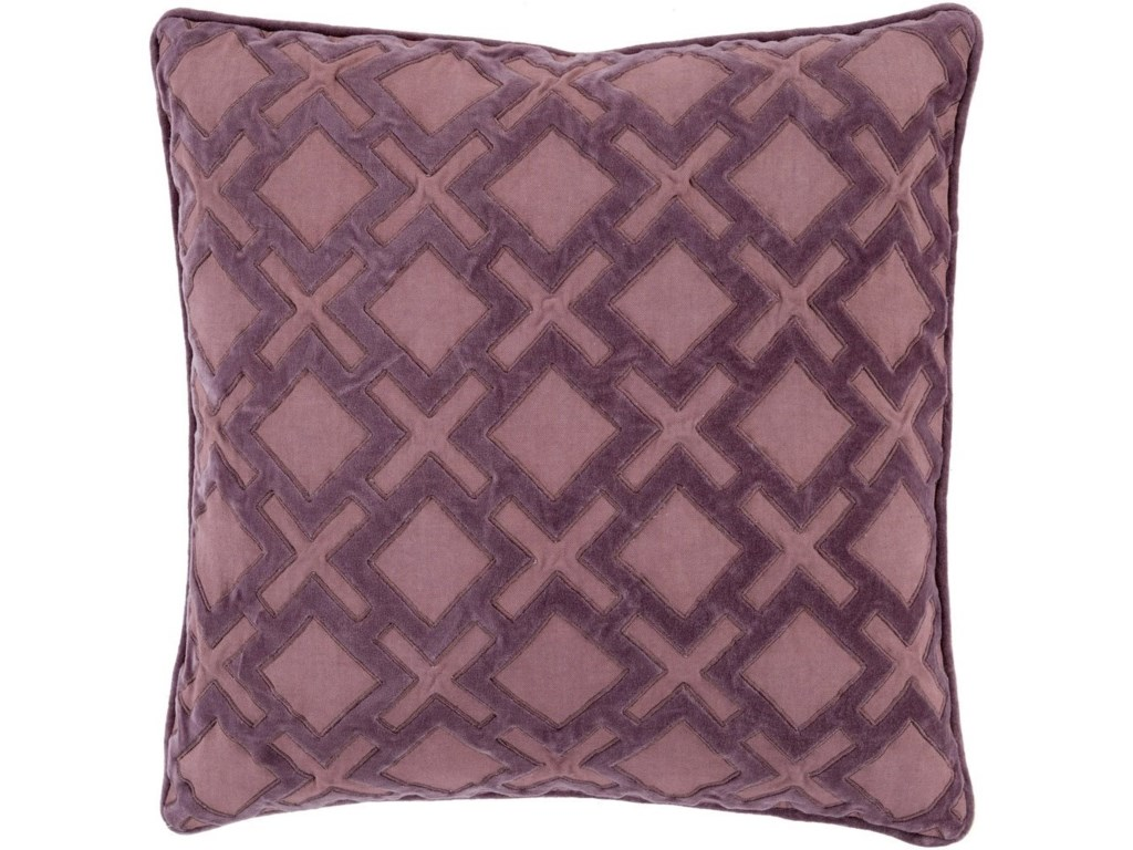 9596 Alexandria22 x 22 x 5 Down Throw Pillow
