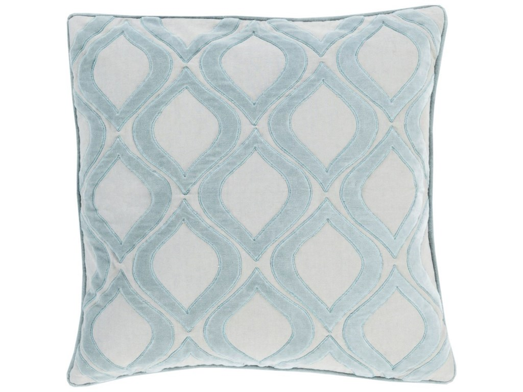 9596 Alexandria20 x 20 x 4 Down Throw Pillow