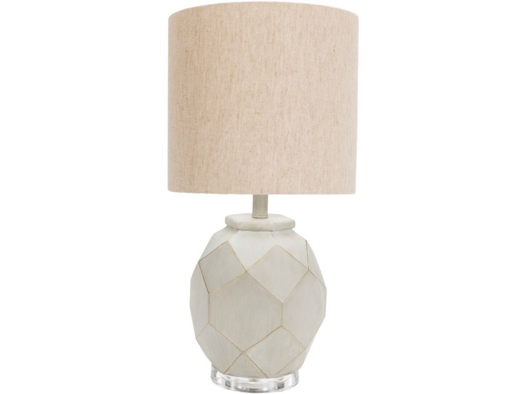 Surya AlmaPainted Modern Table Lamp