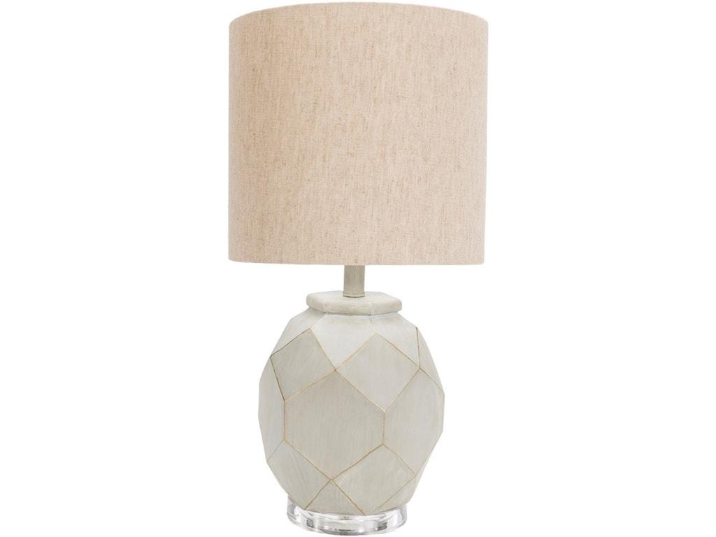 Surya AlmaPainted Modern Table Lamp