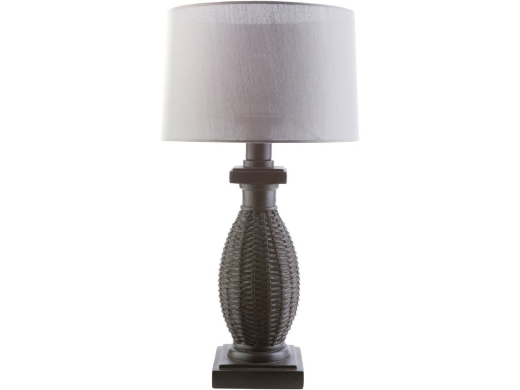 Surya amani black coastal table lamp adcock furniture table lamps surya amani black coastal table lamp mozeypictures Images